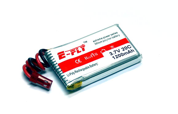5x E-FLY Model 1200mah 3.7v 25C LiPo Li-Polymer Lithium Polymer Battery CA218