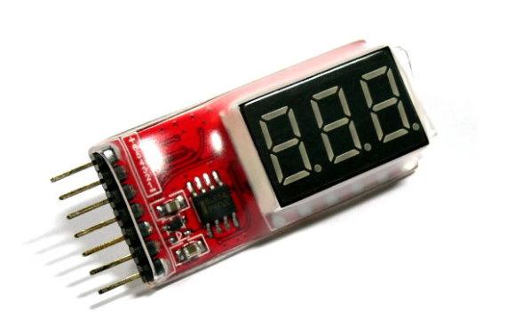 RC Model 2-6S Lithium Polymer R/C Hobby Battery LED Tester BK191