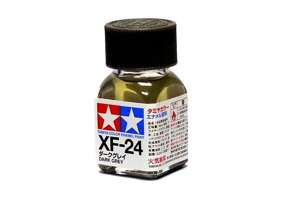 2x Tamiya Model Color Enamel Paint XF-24 Dark Grey Net 10ml 80324 CA356