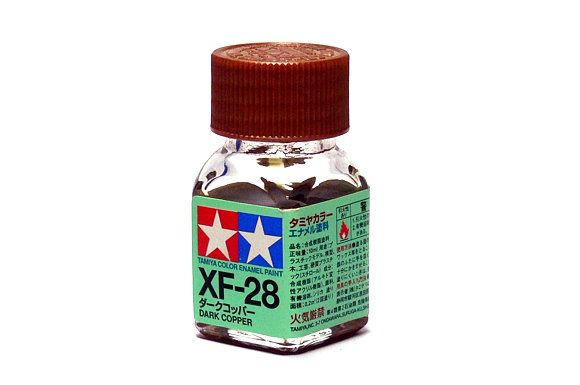 2x Tamiya Model Color Enamel Paint XF-28 Dark Copper Net 10ml 80328 CA352