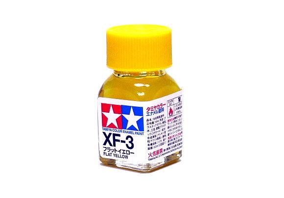2x Tamiya Model Color Enamel Paint XF-3 Flat Yellow Net 10ml 80303 CA377