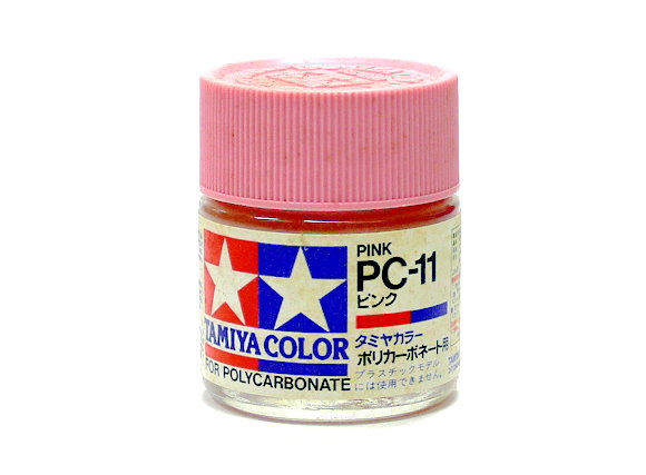 2x Tamiya Model Color PC-11 Pink Net 23ml for Polycarbonate 82011 CA242