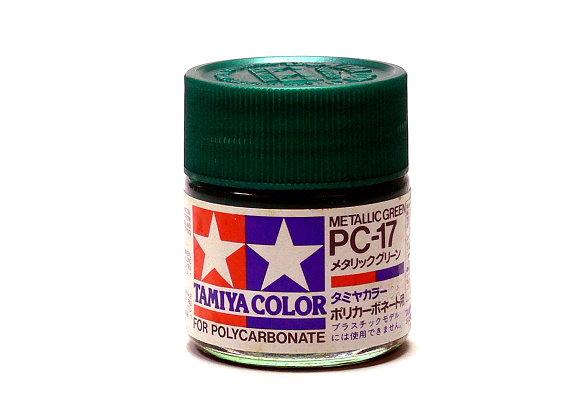 2x Tamiya Model Color PC-17 Metallic Green Net 23ml for Polycarbonate 82017 CA239