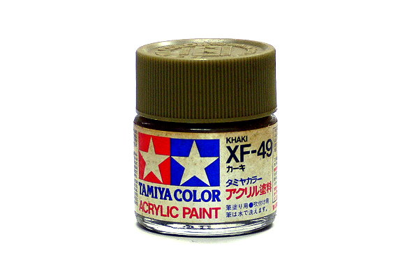 2x Tamiya Model Color Acrylic Paint XF-49 Khaki 23ml 81349 CA255
