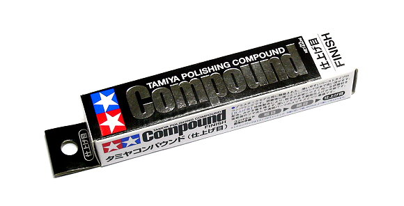 2x Tamiya Model Paints & Finishes Polishing Compound Net 22ml 87070 CA514