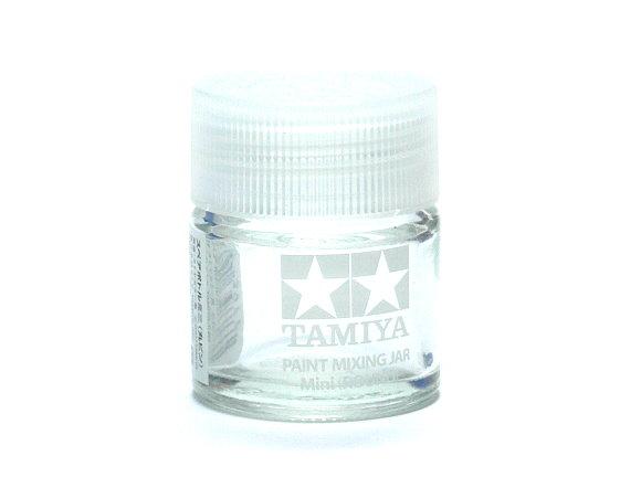 2x Tamiya Model Paints & Finishes Mixing Jar Mini (Round) Net 10ml 81044 CA527