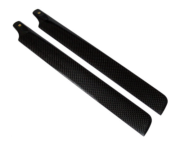 R/C Hobby Carbon Fiber 288mm RC Model Helicopter Main Blades (2pairs) CA150