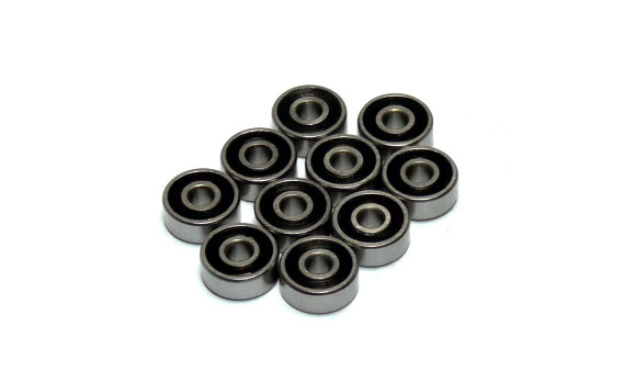 RCS Model 623-2RS High Precision Bearing (3x10x4mm, 10pcs) CS570