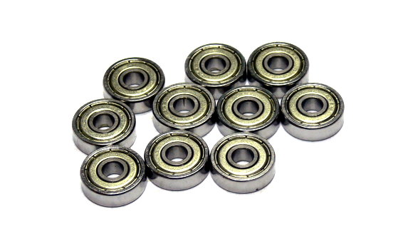 RCS Model 625ZZ High Precision Bearing (5x16x5mm, 10pcs) CS567