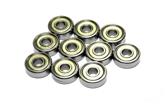 RCS Model 626ZZ High Precision Bearing (6x19x6mm, 10pcs) CS699