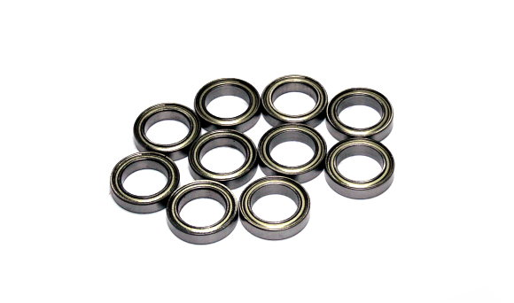 RCS Model 6701ZZ High Precision Bearing (12x18x4mm, 10pcs) CS623