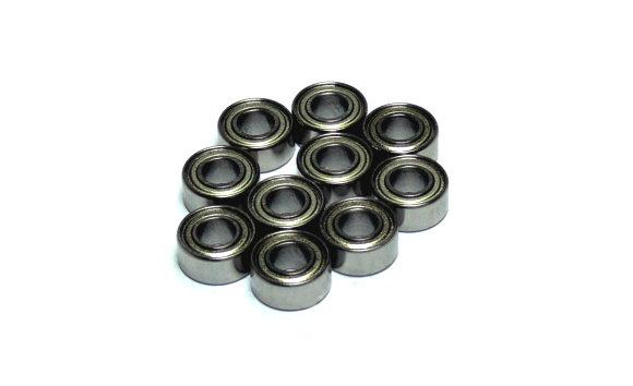 RCS Model 685ZZ High Precision Bearing (5x11x5mm, 10pcs) CS675