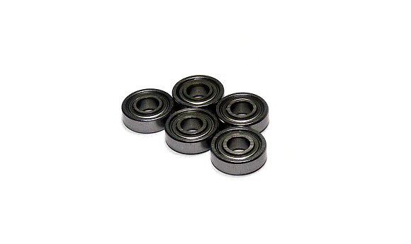 RCS Model 695ZZ/C Ceramic Ball Bearing (5x13x4mm, 5pcs) CC506