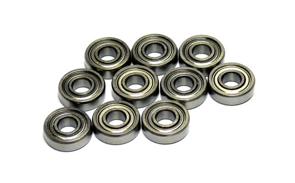 RCS Model 695ZZ High Precision Bearing (5x13x4mm, 10pcs) CS643