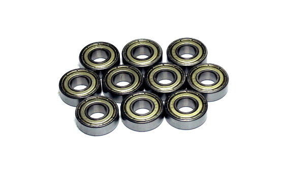 RCS Model 698ZZ High Precision Bearing (8x19x6mm, 10pcs) CS635