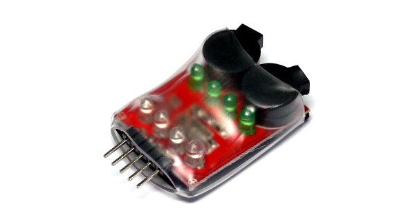 RC Model 8 LED 2-3 Cells Li-Polymer R/C Hobby Battery Alarm BK163