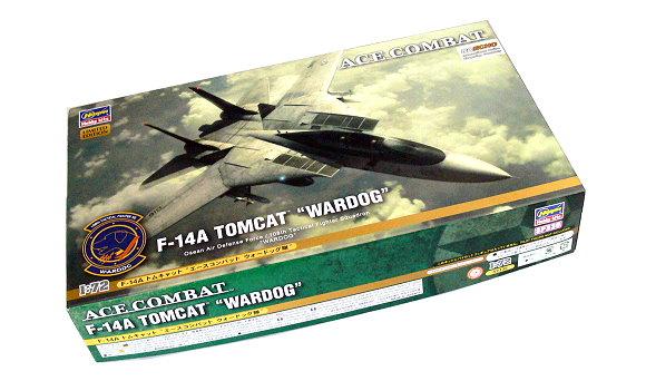 Hasegawa Figure & Anime 1/72 ACE Combat F-14A Tomcat WARDOG SP335 52135 H5235