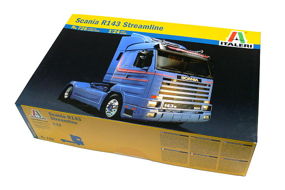 ITALERI Truck & Trailers Model 1/24 Scania R143 Streamline Scale Hobby 726 T0726