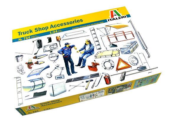ITALERI Truck & Trailers Model 1/24 Shop Accessories Scale Hobby 764 T0764