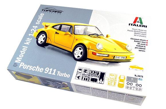 ITALERI Automotive Model 1/24 Cars Porsche 911 Turbo Scale Hobby 3675 T3675