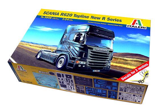 ITALERI Truck & Trailers Model 1/24 SCANIA R620 Topline New R Series 3858 T3858