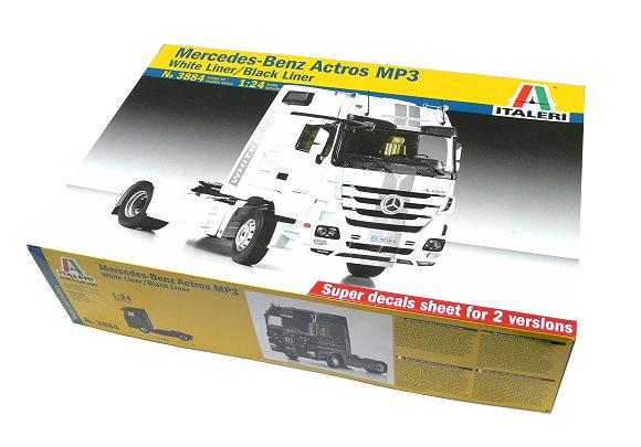 ITALERI Truck & Trailers Model 1/24 Mercedes-Benz Actros MP3 Hobby 3884 T3884