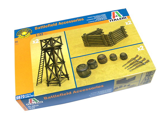 ITALERI Historics Model 1/32 Accessories Battlefield Scale Hobby 6870 T6870