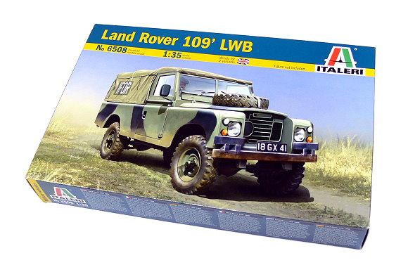 ITALERI Military Model 1/35 Land Rover 109 LWB Scale Hobby 6508 T6508