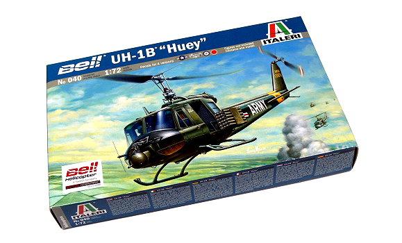 ITALERI Helicopter Model 1/72 Bell U-1B Huey Scale Hobby 040 T0040