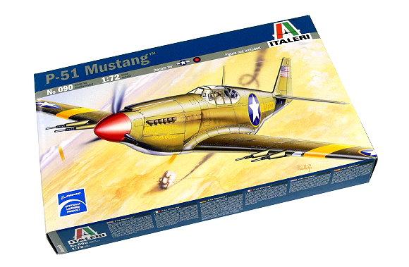 ITALERI Aircraft Model 1/72 P-51 Mustang Scale Hobby 090 T0090