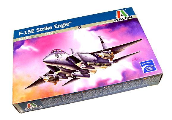 ITALERI Aircraft Model 1/72 F-15E Strike Eagle Scale Hobby 166 T0166