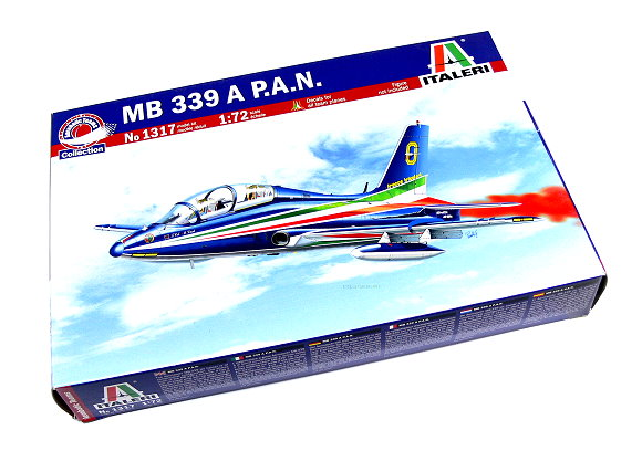 ITALERI Aircraft Model 1/72 MB 339 A P.A.N Scale Hobby 1317 T1317