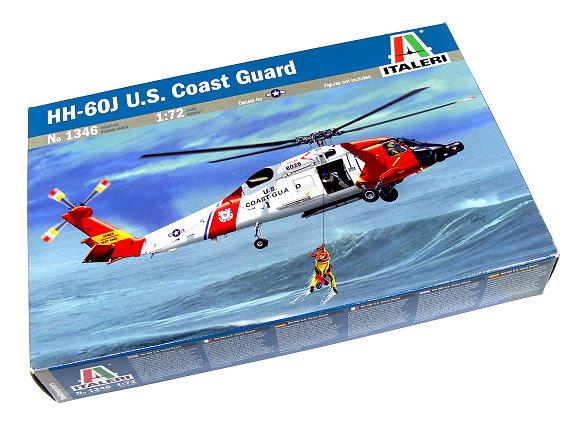 ITALERI Helicopter Model 1/72 HH-60J U.S. Coast Guard Scale Hobby 1346 T1346