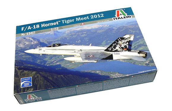 ITALERI Aircraft Model 1/72 F/A-18 Hornet Tiger Meet 2012 Scale Hobby 1347 T1347