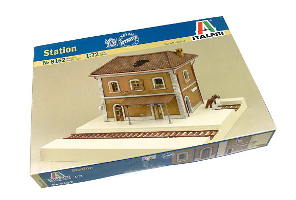ITALERI Military Model 1/72 Accessories Station Scale Hobby 6162 T6162