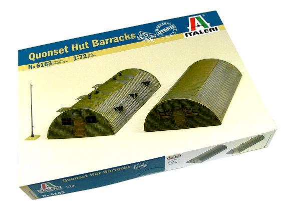 ITALERI Military Model 1/72 Accessories uonset Hut Barracks Hobby 6163 T6163