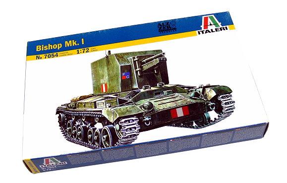 ITALERI Military Model 1/72 Bishop Mk. I Scale Hobby 7054 T7054