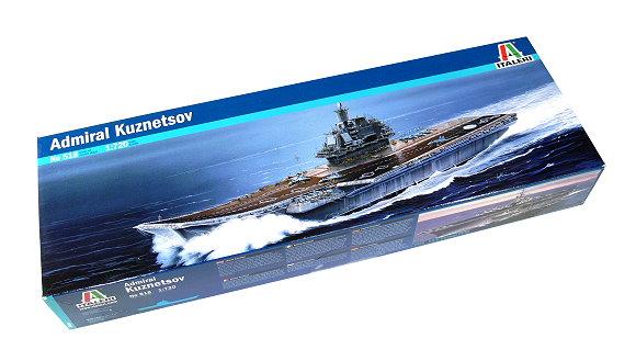 ITALERI Military Model 1/720 War Ship Admiral Kuznetsov Scale Hobby 518 AA004
