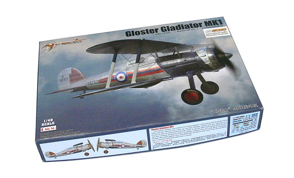 Merit Aircraft Model 1/48 Gloster Gladiator MK1 Scale Hobby 64803 L4803
