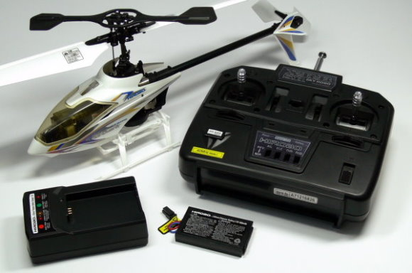 Hirobo S.R.B Quark 40MHz RC Model Electric Helicopter (Complete Set) EH019