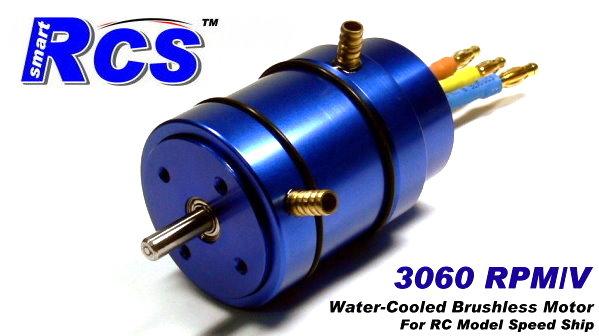 RCS Model 3060 KV RC Ship & Boat Hobby Water-Cooled Brushless Motor IM300