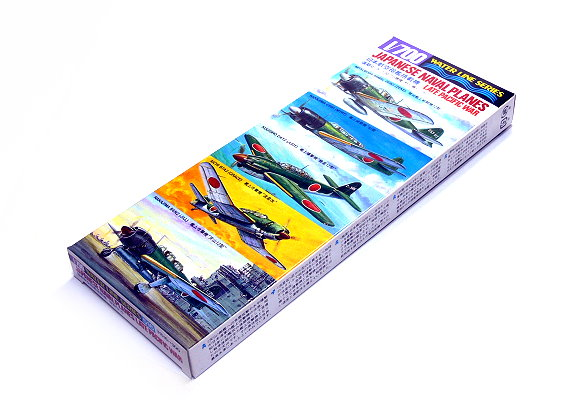 Tamiya Aircraft Model 1/700 Airplane Japanese Naval Planes (Pacific War) 31516