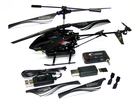 WLtoys S215 iPhone / Andoird Control 3.5ch Gyro Camera Mini i-Helicopter EH013