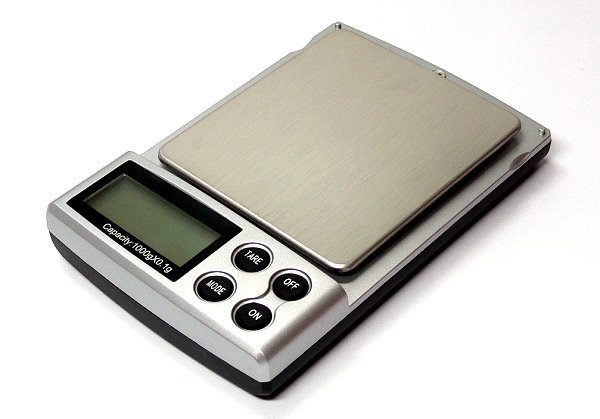 RC Model 1 KG Digital Mini R/C Hobby Pocket Scale AC981