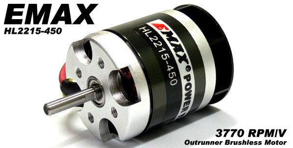 EMAX RC Model 3770 KV RPM/V R/C Hobby Outrunner Brushless Motor OM286