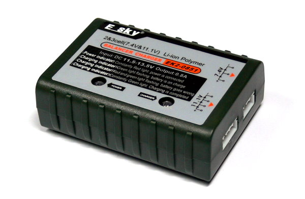 Esky 2-3 Cell Li-Polymer Battery Balance Charger BC026