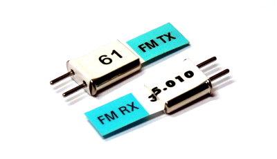 Esky RC Model FM 35.010 MHz R/C Hobby Receiver & Transmitter Crystal CY055