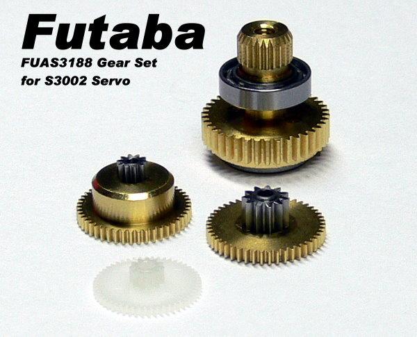 Futaba RC Model Servo Gear Set for R/C Hobby S3002 Servo SG752