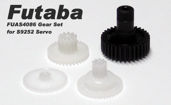 Futaba RC Model Servo Gear Set for R/C Hobby S9252 Servo SG888