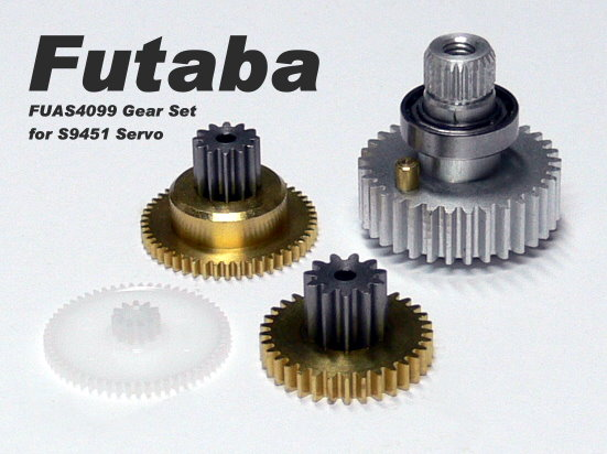 Futaba RC Model Servo Gear Set for R/C Hobby S9451 Servo SG952